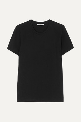 Ninety Percent Net Sustain Jenna Organic Cotton-jersey T-shirt - Black