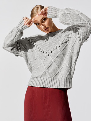 NSF Kaaya Textured Pullover Sweater