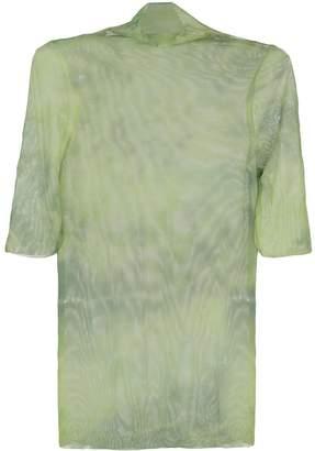 Collina Strada sheer tie dye T-shirt