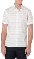 Perry Ellis Striped Sportshirt