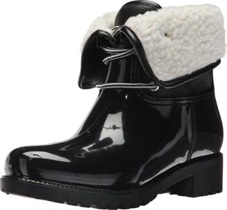 dav Women's Calgary Shearling Rain Boot