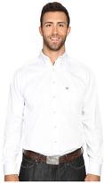 Ariat Big & Tall Solid Twill Shirt