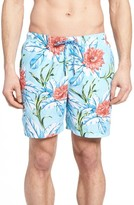Tommy Bahama Men's Naples Fira Floral Print Swim Trunks