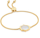 Monica Vinader Atlantis Hamsa Friendship Chain Bracelet