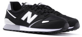 New Balance 446 80s Running Black Suede Trainers