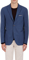 Boglioli Men's Wool-Cashmere Two-Button Sportcoat-BLUE