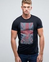 French Connection Union Jack Print T-shirt