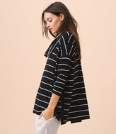 LOFT Lou & Grey Striped Hi-Side Signaturesoft Cowl Tunic
