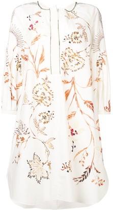 Dorothee Schumacher Embroidered Flared Dress