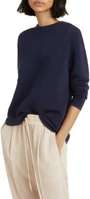 Reiss Skye Back Zip Sweater