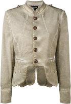 Just Cavalli military jacket - women - Cotton/Spandex/Elastane - 40