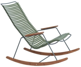 Ecc Lighting & Furniture Click Outdoor Rocking Chair Olive Green