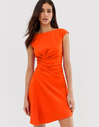 Closet London Closet asymmetric front dress