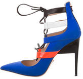Ruthie Davis Miles Lace-Up Pumps