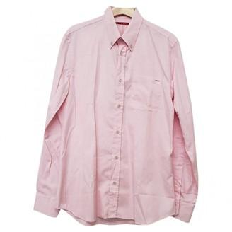 Prada Pink Cotton Shirts
