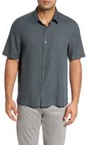 Nat Nast Men's Ajax Classic Fit Silk Blend Camp Shirt