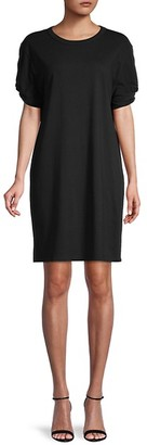 Rebecca Minkoff Ally Puff-Sleeve Shift Dress