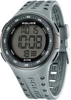 Police Gents Cyberlite Grey Strap Watch