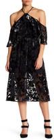 ABS by Allen Schwartz Off-the-Shoulder Floral Midi Dress