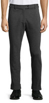 ATM Anthony Thomas Melillo Stretch-Flannel Pants, Charcoal
