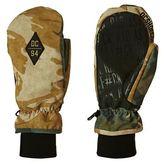 DC Snowboard Gloves Shelter Mittens - British Woodland Camo