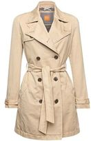 Hugo Boss Otrenchy-D Cotton Trench Coat 4 Beige