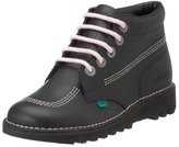 Kickers Womens Kick Hi Core Leather Shoes