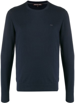 Michael Kors Embroidered Logo Jumper