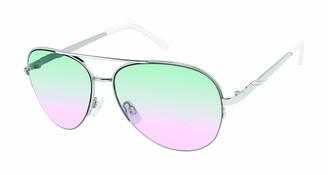 Tahari Women's TH792 Aviator-Designed Sunglasses with 100% UV Protection 61 mm