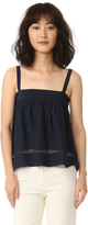 Jenni Kayne Gathered Band Cami with Lace