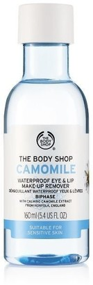 The Body Shop Camomile Waterproof Eye & Lip Makeup Remover