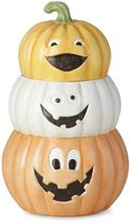 Lenox Halloween Pumpkin Treat Jar with Sound
