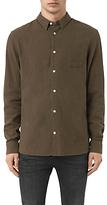 Allsaints Allsaints Medora Long Sleeve Shirt, Khaki