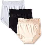 Bali Women's Lacy Skamp - ( Pack of 3 Units )