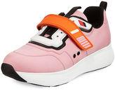 Prada Grip-Strap Neoprene Sneaker