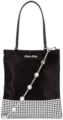 Miu Miu Starlight Shoulder Bag in Black | FWRD