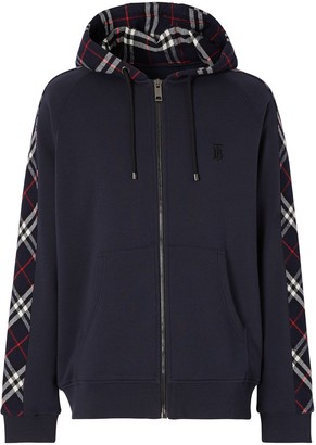 Burberry Vintage check zipped hoodie