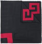 Givenchy long logo scarf
