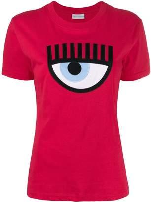 Chiara Ferragni eye appliqué T-shirt