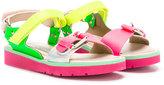 Stella McCartney buckled sandals - kids - Leather/rubber - 34