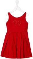 Lapin House - pleated dress - kids - Cotton/Spandex/Elastane - 6 yrs