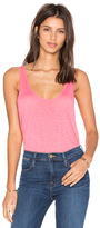 Velvet by Graham & Spencer Tila Lux Slub Scoop Neck Tank