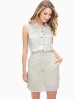 Splendid Marina Pinstripe Shirtdress