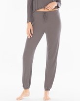 Soma Intimates Luxe Ribbed Jogger Lounge Pants