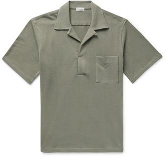 Camoshita Skipper Camp-Collar Cotton-Terry Shirt