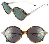 Christian Dior Women's Umbrags 52Mm Sunglasses - Blue Havana/ Palladium