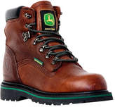 """John Deere Men's Boots 6"""" Waterproof Lace-Ups 6283"""" - Dark Brown Boots"""