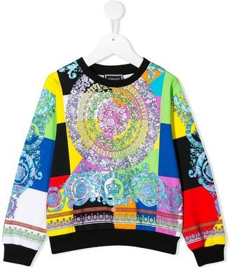 Versace Colour-Block Sweatshirt