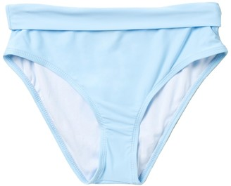 Athena Solid Mid Waist Bikini Bottoms