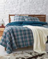 lauren ralph lauren randolph reversible yarndyed plaid fullqueen comforter - Plaid Comforter